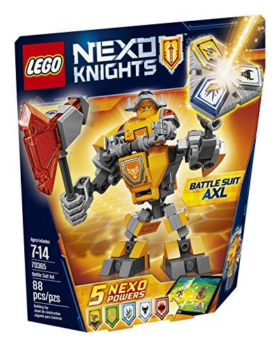 LEGO Nexo Knights Battle Suit Axl 70365 Building Kit (88...