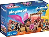 PLAYMOBIL: THE MOVIE Marla, Del y Caballo con Alas, a Partir de 5 Años (70074)