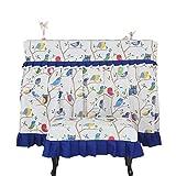 Cubierta del Piano Piano Patrón de Polvo Bird Tela Impresa Cubierta con Todo Incluido Piano Cubierta de Polvo Cubierta Abierta Tamaños Adapta a la Mayoría de Piano