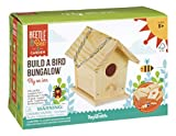 Toysmith Beetle & Bee Build A Bird Bungalow, Backyard Birdhouse Kit, DIY Arts & Crafts House Gardening For Kids & Teens, Boys & Girls
