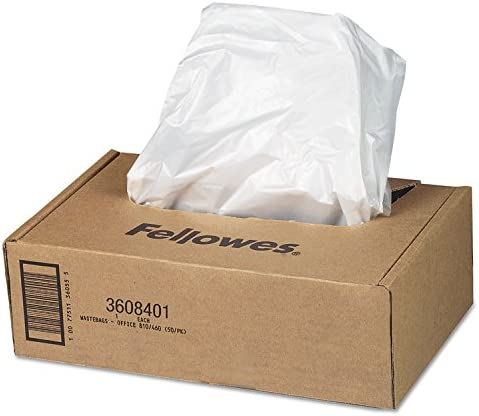 Fellowes 3608401 Cheap mail order specialty store Shredder Bags f Cheap sale CT Automax Clea 1RL 50