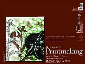 Strathmore Paper 400 Series Printmaking Pad, Heavyweight, 18