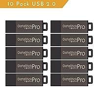 Centon MP Valuepack USB 2.0 Datastick Pro (Grey), 64GB, 5Pack Bulk