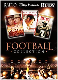 Football Collection Boxed Set: (Radio / Jerry Maguire / Rudy)