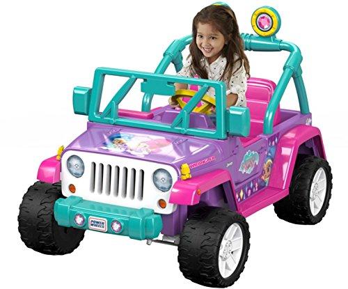 Fisher-Price DWR11 Power Wheels Nickelodeon Shimmer & Shine Jeep Wrangler