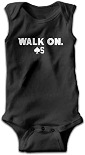 Baker Mayfield Cleveland Football Walk On First Pick Music Band Sleeveless Baby Bodysuit Comfortable Baby Toddlers Suit 45 Gift Black