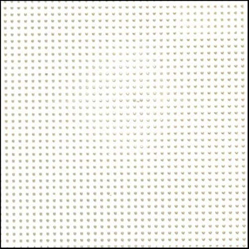 Darice Perforated Plastic #14 Mesh Plastic Canvas, White - 8.25' x 11' - 2 Pieces