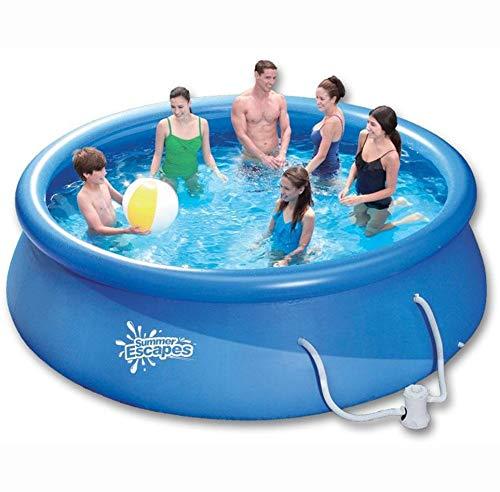 Happy Products Pool-Set - 366x76cm mit Kartuschenfilter - ideal für einen erfrischenden Tauchgang in Ihrem eigenen Garten