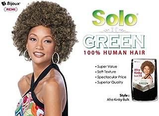SOLO GREEN AFRO KINKY BULK 14