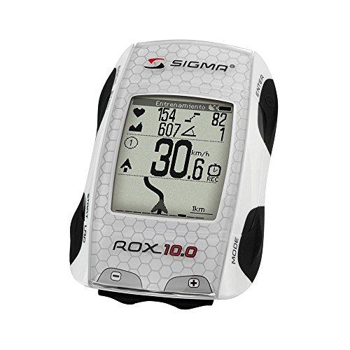 Sigma Elektro 01001 - GPS completo de ciclismo, color blanco