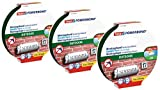 tesa Cinta de montaje de doble cara Powerbond para exteriores, 3 x 5 m (5 m:19 mm)