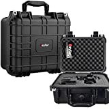 Eylar Protective Hard Camera Case Water & Shock Proof w/Foam TSA Approved 13.37 Inch 11.62 Inch 6 Inch Black