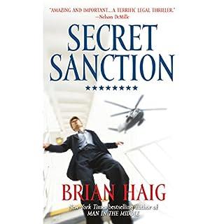 Secret Sanction audiobook cover art