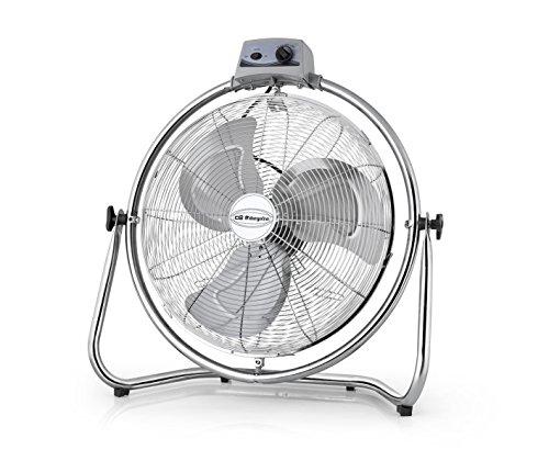 Orbegozo PWO 1946 industriële ventilator met draaibare kop, 45 cm diameter, 3 snelheden, 130 W vermogen