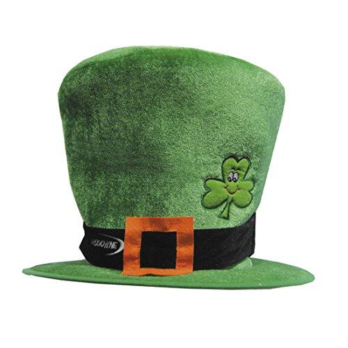 Irisches Partyhut Hut KarnevalshutZylinderhut Top O 'The Mornin' Leprechaun | Lustige Party St. Patrick's Day Zubehör