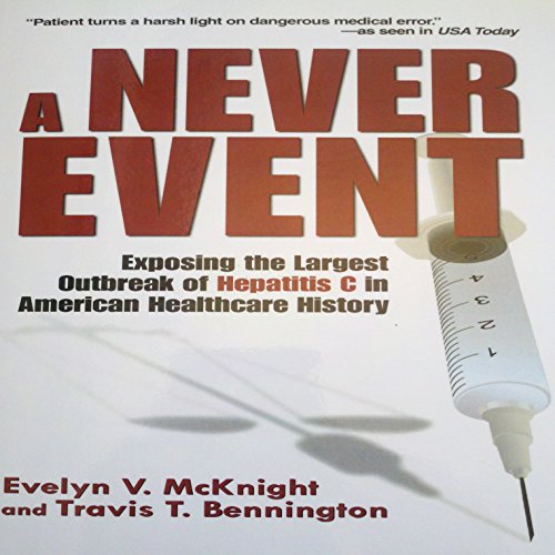 A Never Event audiobook cover art