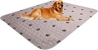 """Washable Whelping Mats+Free Puppy Grooming Gloves/Puppy Pads/Reusable Dog Training Pads/Extra Large 72"""" x 72"""" Dog Pee Pad/..."""