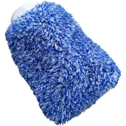Guante de lavado de coche para un cuidado perfecto del coche, guantes de microfibra para llantas, guantes de lavado de coche