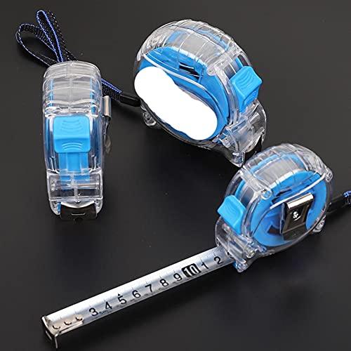 Cinta métrica de alta calidad de 3/5/7.5/10 metros, una variedad de precisión y regla de medición duradera, cinta métrica precisa y transparente, 5 m