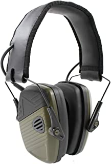 inf protear Electronic Shooting Earmuff Sound Amplification NRR 22dB Hearing Protection Earmuffs Perfect for Hunting