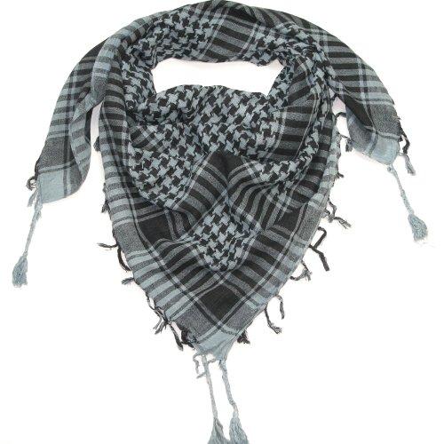 LOVARZI Grau Palästinenser Tuch Mode-Accessoire für junge Herren und Damen