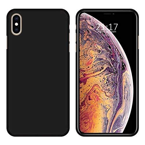 Wephone Accesorios Funda de Silicona y Cristal Templado para Apple iPhone XS...