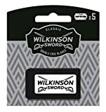 Wilkinson Sword Classic PREMIUM - Recambios de 5 Hojas de Cuchillas de Afeitar...