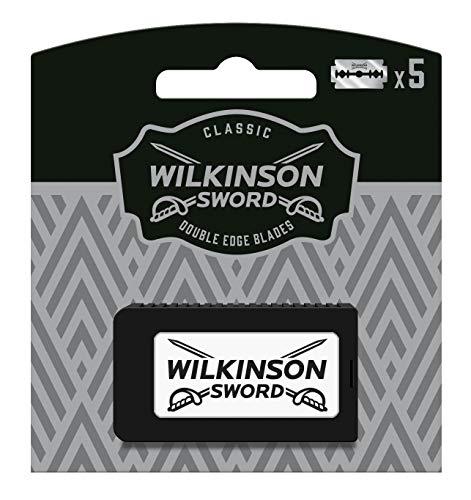 Wilkinson Sword Classic Vintage Edition Rasierklingen für Herren Rasierer, 5 Stück