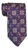 Robert Talbott Carmel Satin Purple Tapestry Tie