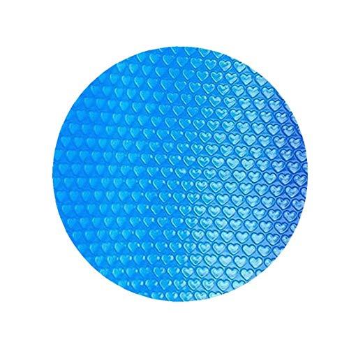 Nicetruc Piscina Cubierta Piscina Redonda Solar Cubierta Protectora Impermeable Polvo Piscina de Aislamiento de Cine Inicio Piscina Accessor 240CM