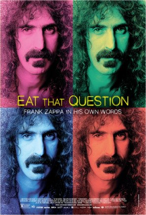Eat That Question: Frank Zappa in His Own Words - US Imported Movie Wall Poster Print - 30CM X 43CM