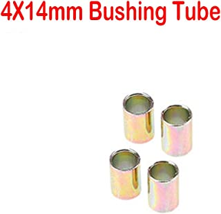 Custom Motorcycle Shock Absorber Rear Suspension 14 mm Tubes Bushing, 4pcs