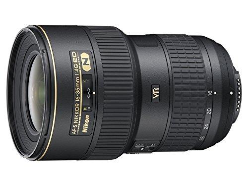 Nikon AF-S NIKKOR 16-35mm f/4G ED VR Negro - Objetivo (0,28 m, 16-35 mm, 0.25x, 107°, 63°, Negro)