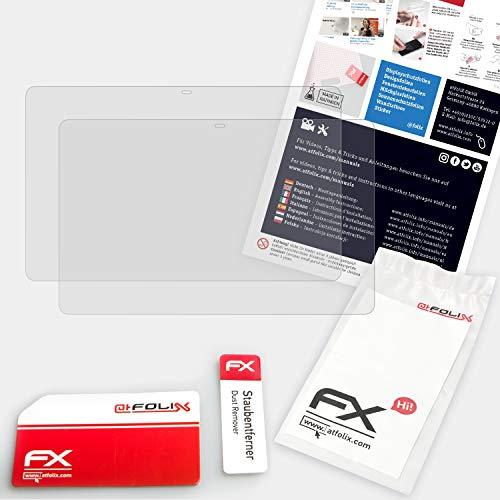 atFolix Panzerfolie kompatibel mit Samsung Galaxy View Schutzfolie, entspiegelnde und stoßdämpfende FX Folie (2X)