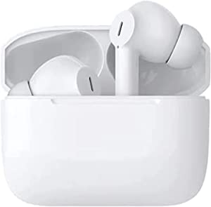Wireless Earbuds Bluetooth 5.0 Headphones Noise Cancelling Earphones with Charging Case 3D Stereo Earpods Pop-Up Auto Pairing Ear Buds Earbuds for iPhone/Sumsung/Android Earbuds (Pro3)