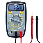 Segomo Tools 500 Volt Amp & Diode Voltage, Resistance & Continuity Digital Multimeter Tester - DM500