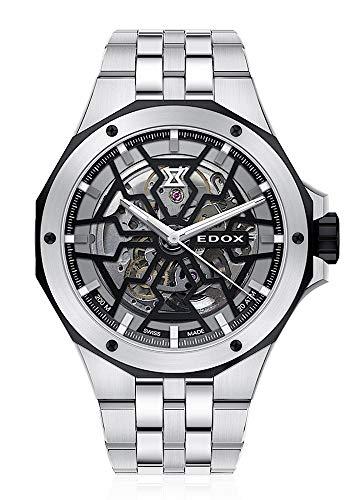 EDOX Delfinin Mecano 85303 3NM NBG - Reloj automático para hombre