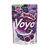 YOYO Brand, Bubble Gummy Jelly, Pectin Gummy Jelly Dessert Contains 10% Grape Juice, Size 36.8g (Pack of 2).By naveenana shop