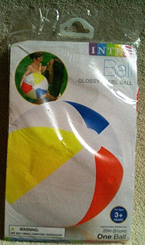 "Price comparison product image Intex Recreation Glossy Panel Ball,  20"""