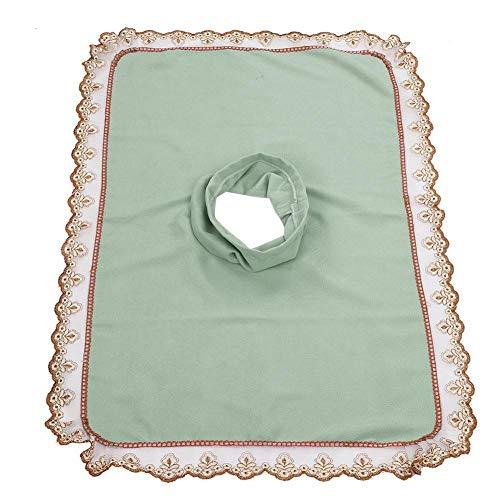 Lenzuolo Beauty Spa, copriletto per lettino da massaggio con foro Telo coprimaterasso per lettino da massaggio spa per salone di bellezza e barbiere(4#)