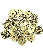 مجموعة ساحرة لصناعة المجوهرات، باللون الذهبي، 24 قطعة