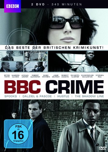 BBC Crime (Spooks, Dalziel & Pascoe Shadow Line, Hustle) (2 DVDs)
