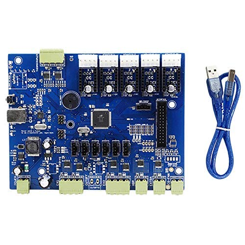 CLJ-LJ Replicator G Mighty Board with Ic Atmega1280-16Au+Cable for Makerbot 3D Printer 8 Dja99