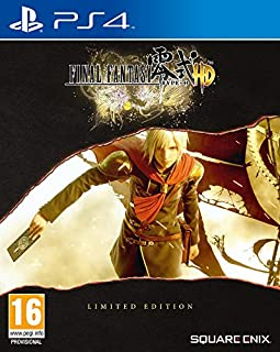 Final Fantasy Type-0 HD Limited Edition Steelbook PS4 Game (Includes FFXV Demo)