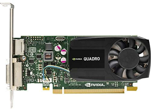 HP NVIDIA Quadro K620 2GB Scheda Grafica (Quadro K620, 2 GB, GDDR3, 128 bit, 4096 x 2160 pixels, PCI Express x16)