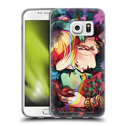 Head Case Designs sous Licence Officielle Batman DC Comics Poison Ivy & Harley Quinn Gotham City Sirens Coque en Gel Doux Compatible avec Samsung Galaxy S7