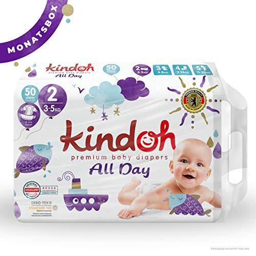 Kindoh All Day Windeln - MONATSBOX - 150 Stück (Größe 2)