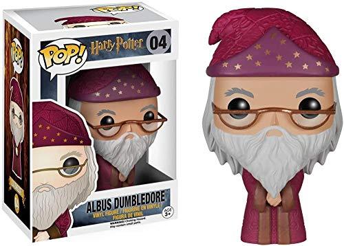 Funko POP! Harry Potter: Albus Dumbledore traje rosa