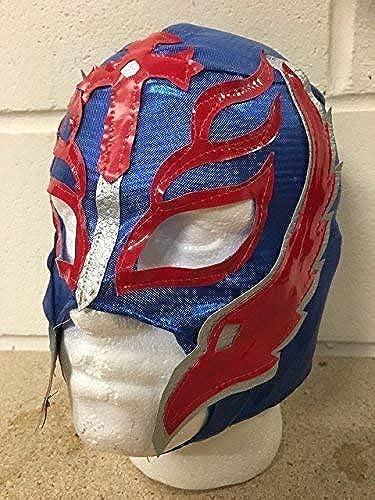 Entrega gratuita y rápida disponible. Rey Rey Rey Mysterio -azul- Cremallera Máscara - NUEVO - WWE Wrestling Disfraz Disfraz  al precio mas bajo