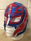 Rey Mysterio -azul- Cremallera Máscara - NUEVO - WWE Wrestling Disfraz Disfraz...